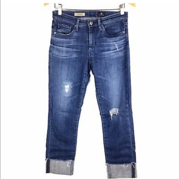 Ag Adriano Goldschmied Denim - AG The Steve Cuff Jeans - Petite